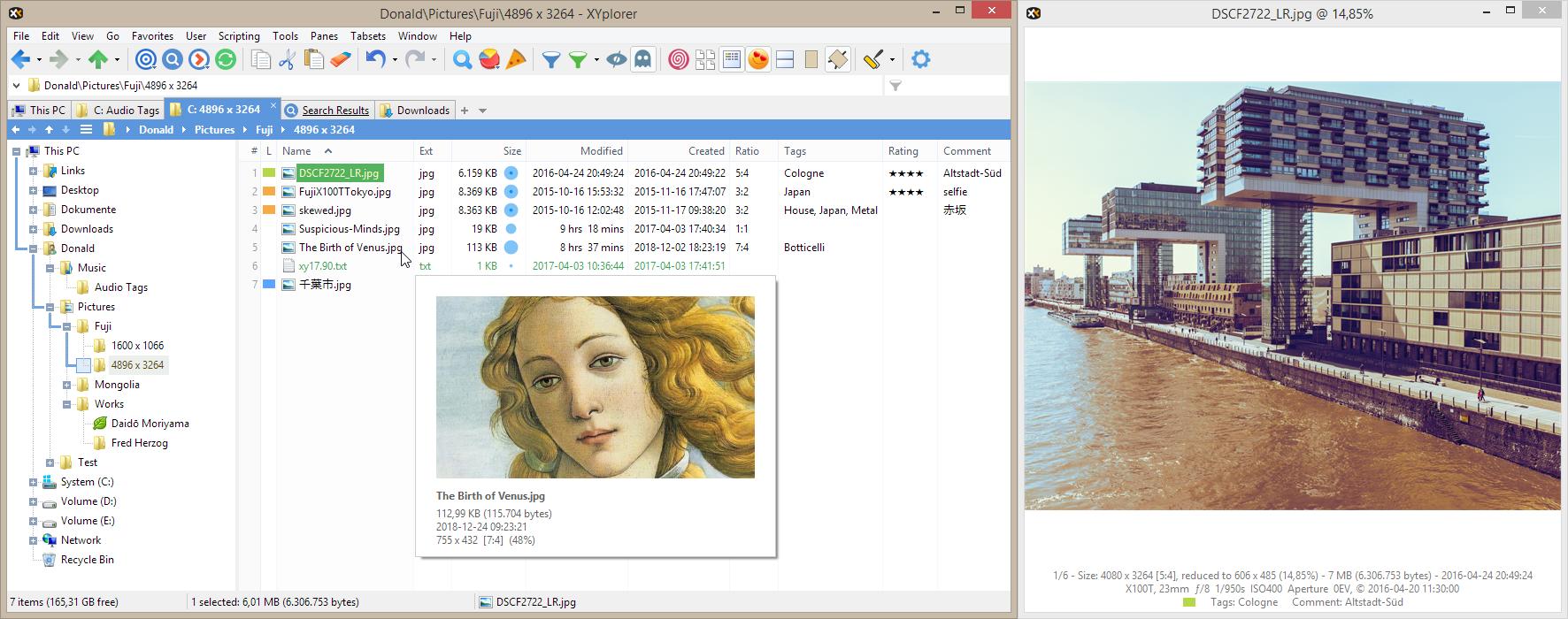 Full Portable XYplorer screenshot